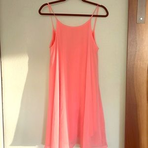 3 for $30 😊 Lulu's spaghetti strap dress coral M
